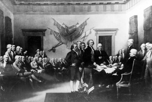 The Declaration of Independence by Marion Doss