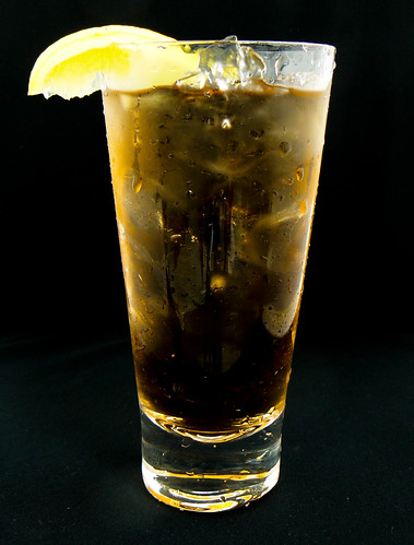 Long Island Ice Tea Mixed Drink Cocktails
