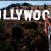 Jonah at the Hollywood Sign by P.S.Zollo