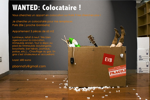 WANTED: Colocataire !
