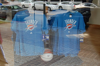 Oklahoma City Thunder shirts