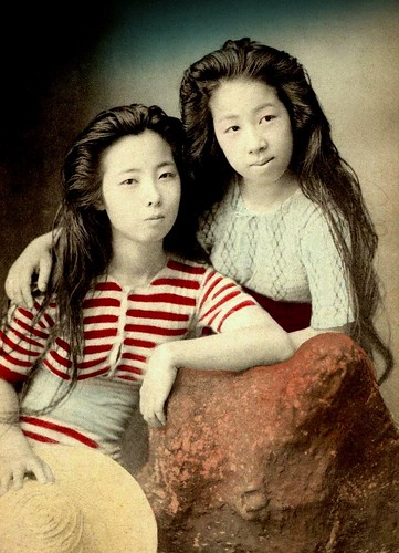BATHING BEAUTIES of OLD JAPAN