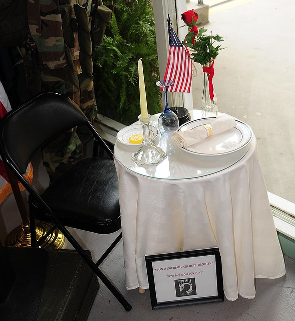 Peachy New Ceremony For Pow Mia Table Download Free Architecture Designs Intelgarnamadebymaigaardcom