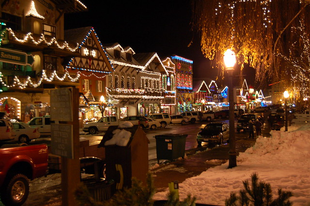 Christmas In Leavenworth Wa A Little Bavarian Town In