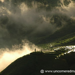 Early Morning Clouds on Rice Terraces - Yuanyang, China