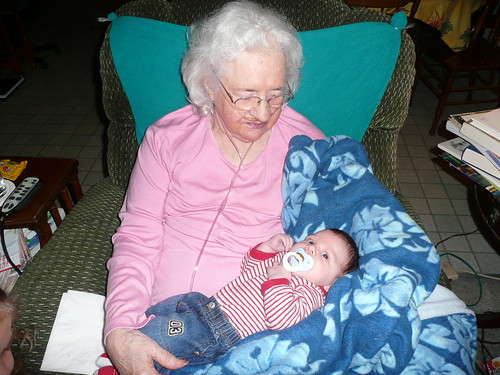 Love you Great Grandma!