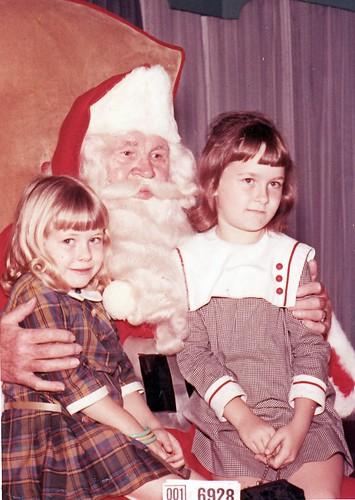 Visit to Santa, mid-60s