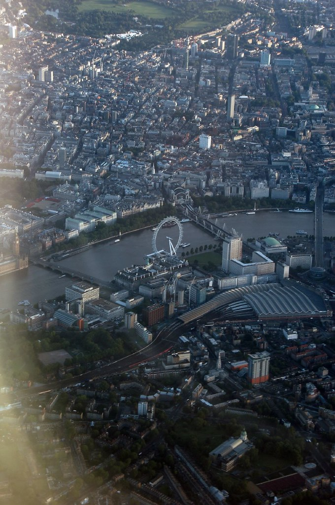 London Eye, the Shopping District, Soho, Covent Garden and South Bank