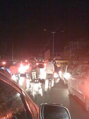 Traffic in Bangalore, India