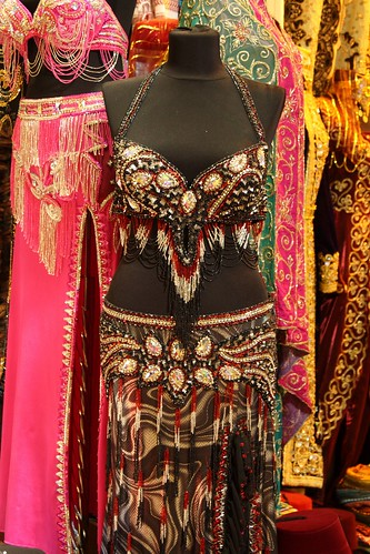 Belly dancing outfit in the Grand Bazaar, Istanbul