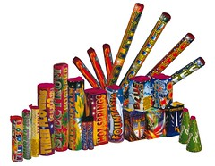 EPIC FIREWORKS - Sir Tranquil 24 fireworks selection box less than half price