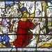 Shrewsbury, St Mary, Sanctuary, North, triple lancet window, St Bernard enters the Cistercian Order