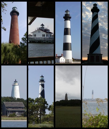 """Coastal North Carolina Lighthouses"" 4 Day Tour by scott185 (the original)"