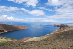 Atop the hill on Isla del Sol