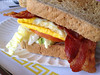 Bacon & Egg Breakfast Sandwich at Irv's Burgers