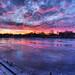 Sunset Umeå by t3kniksegmentet