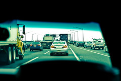 traffic. highway.