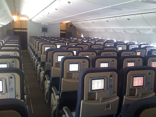 777 interior economy flickr photo sharing for Interieur 777