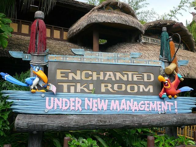 Disney Enchanted Tiki Room Under New Management