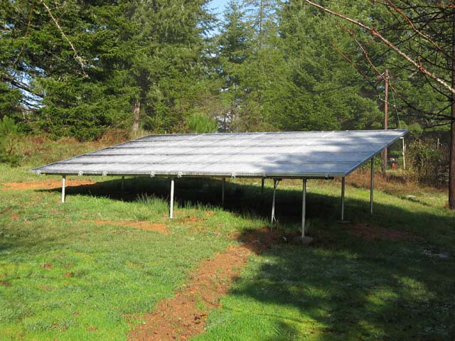 Solar Panels Covered In Hail Flickr Photo Sharing