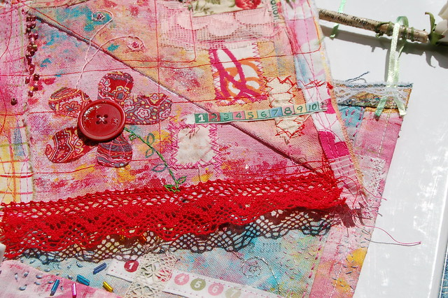 Art Quilt | Summer Playtime