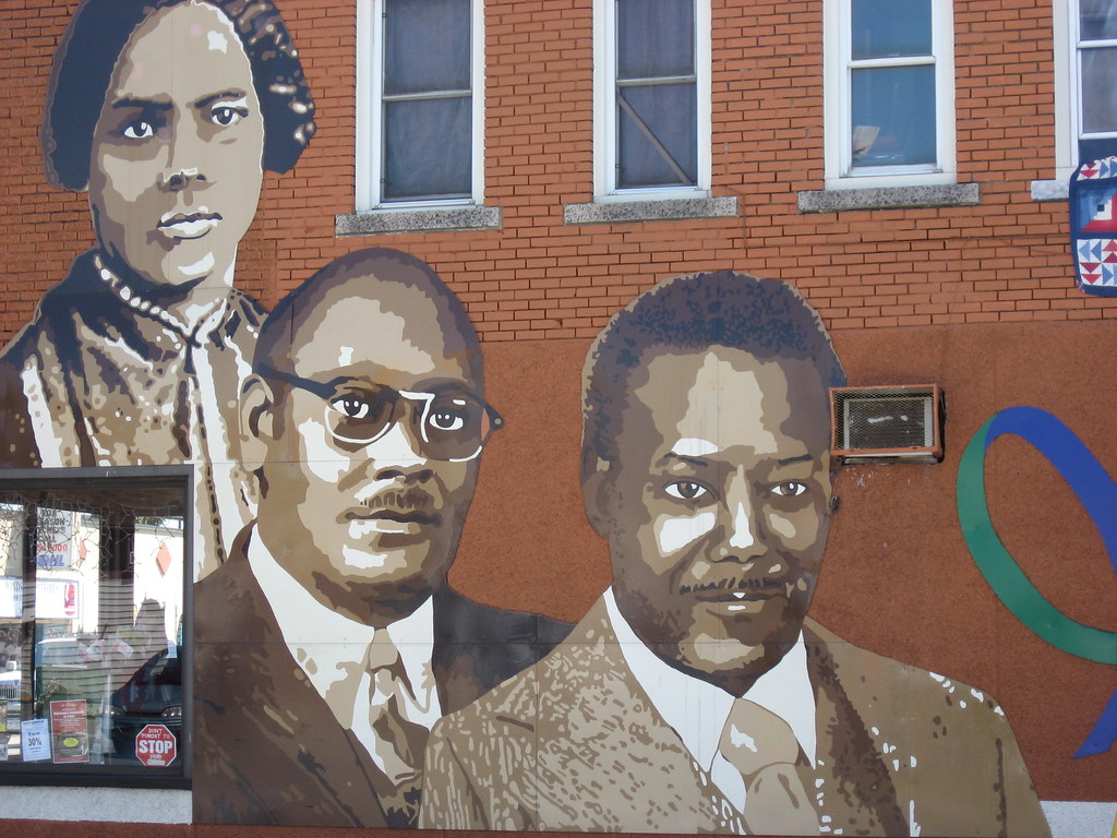 Black history mural mcdougall st flickr photo sharing for Black history mural