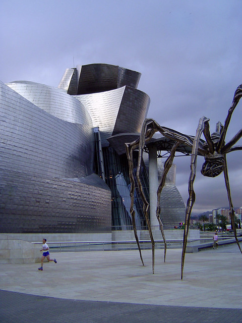 Panic in the Guggenheim Museum of Bilbao¡¡¡¡¡¡¡
