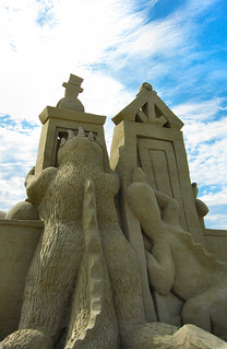 ..the ultimate sand castle!!!!