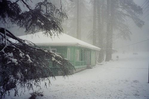 Snowfall on New Years Eve