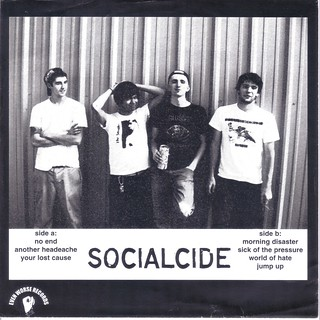 Socialcide - 2007 - Sick Of The Pressure EP-back