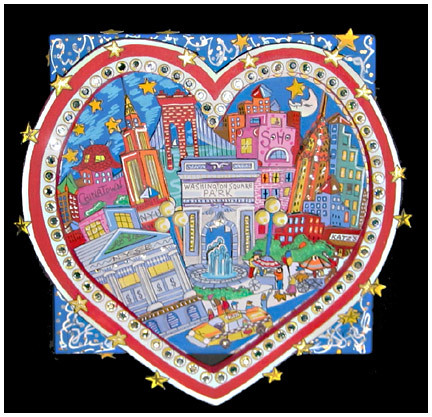 490 3d pop art fazzino painting new york heart lg flickr. Black Bedroom Furniture Sets. Home Design Ideas