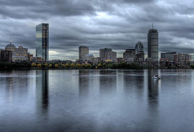 Storms Loom Over Boston
