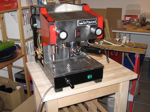 restaurierung einer la pavoni pub kaffee netz. Black Bedroom Furniture Sets. Home Design Ideas