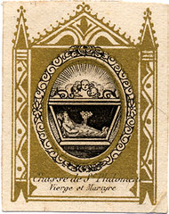 ©Universal Living Rosary Association of Saint Philomena Holy Card 016
