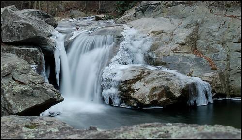 longexposure ice water d50 waterfall northcarolina