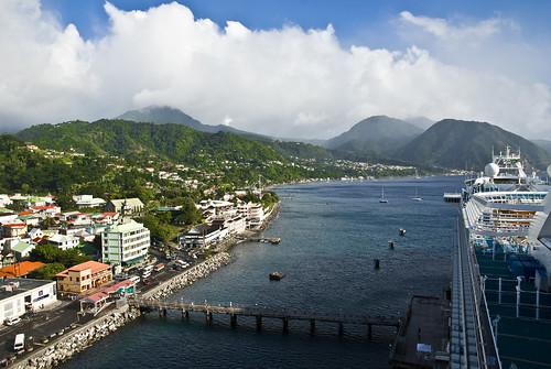 Emerald in Dominica