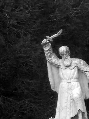 Statue of Elijah