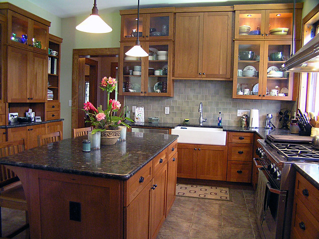 Kitchen inspiration a gallery on flickr for Arts and crafts kitchen designs