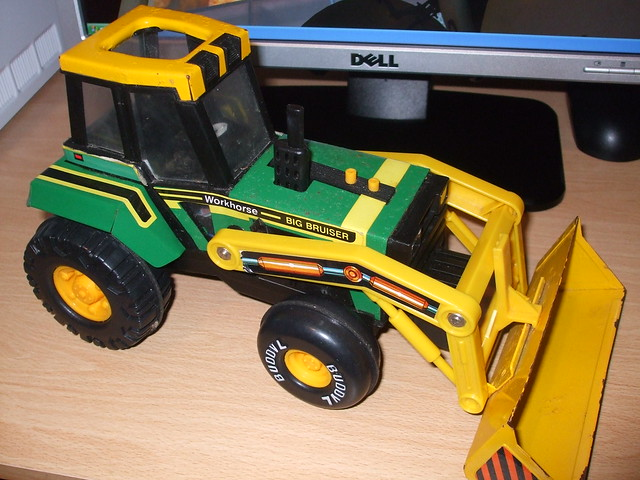 Toy Box - Tractor