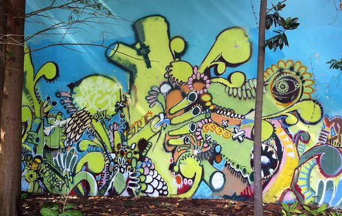 Graffiti Forest