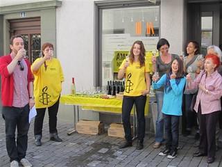 Toast to Freedom Switzerland