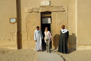 Entrada a la tumba de mere-ruka Pirámide escalonada de Zoser en Saqqara, la más sagrada - 13041043253 e4ed454026 n - Pirámide escalonada de Zoser en Saqqara, la más sagrada