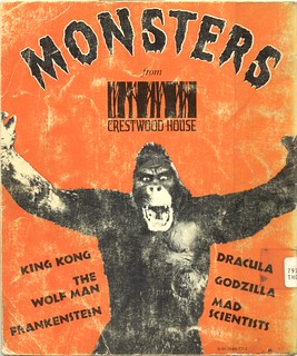 Crestwood Monsters -- Front Cover