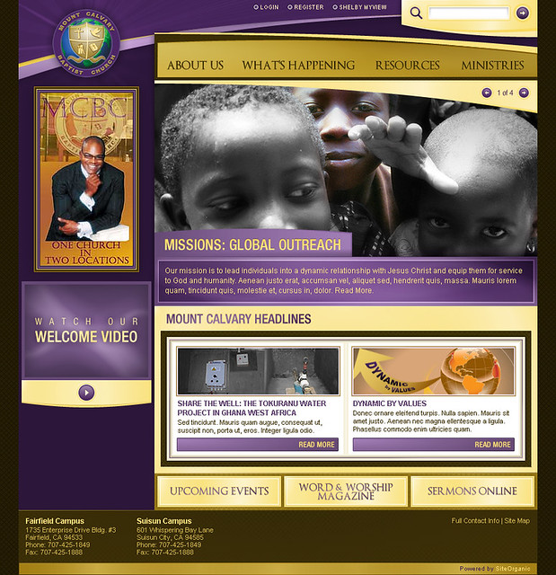 Mount Calvary Baptist Church - Home Page