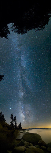 Tahoe + Milky Way + Vertical Pano = :)