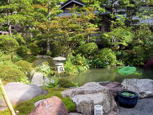 Ekoin temple - Garden