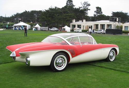 Concours d'Elegance 2008. 1956 Buick Centurion
