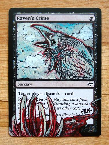 raven's crime