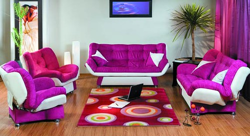 North Cyprus Furniture – Flower Sofa Set