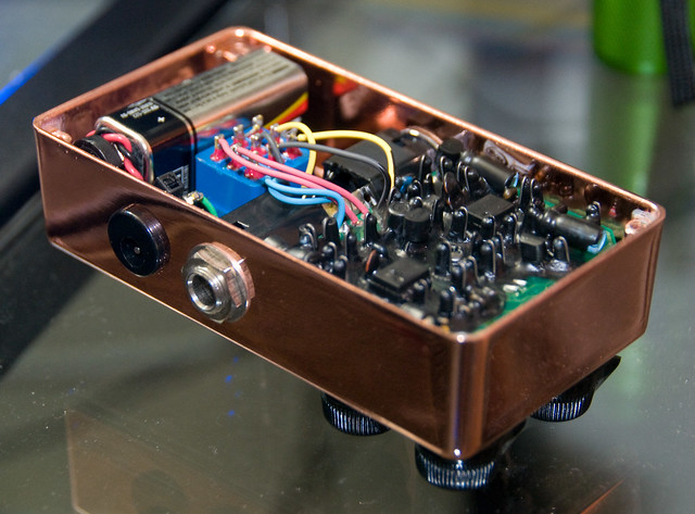 Photo:Xotic BB Preamp (Copper) - Internal By ArtBrom
